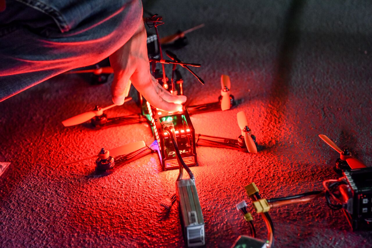 drone racing league drone